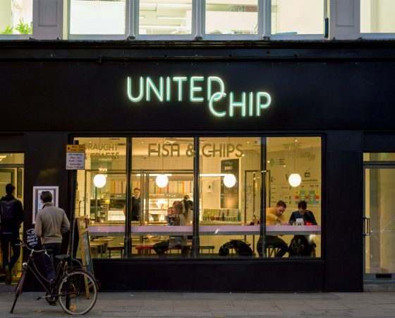 UNITED CHIP – CLERKENWELL, LONDON